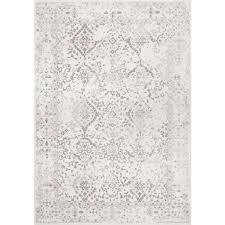 Rugs Direct Com Reviews Nuloom Vintage Odell Ivory 9 Ft X 12 Ft Area Rug Rzbd21a 9012