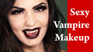 vampire halloween and masquerade makeup tutorial youtube