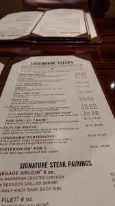 longhorn steakhouse myrtle beach menu prices u0026 restaurant