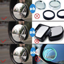 Blind Spot Mirrors For Motorcycles 2 X Blind Spot Convex Mirrors Towing Car Safety Renault Megane 225