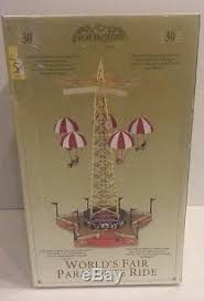 mr world s fair parachute ride gold label collection