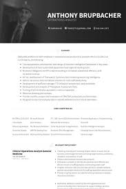 Physician Resume Examples by Operations Analyst Resume Samples Visualcv Resume Samples Database