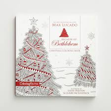 max lucado because of bethlehem coloring book