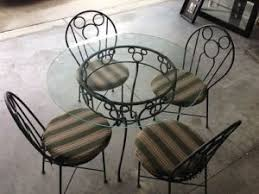 Rod Iron Patio Table And Chairs Disney Mickey Mouse Wrought Iron Patio Tables And Chairs Design