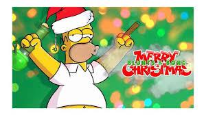 Simpson Memes - homer simpson stoned blunts bong christmas weed memes weed memes