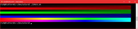 24 bit color in the windows console u2013 windows command line tools