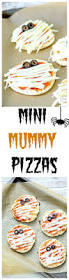 mini mummy pizza with english muffins kid cooking pizzas and