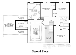 Georgian Floor Plans by Bowes Creek Country Club The Fairways Collection The Northwood