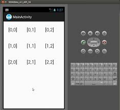 grid layout for android sle program android gridlayout static gridlayout creation in