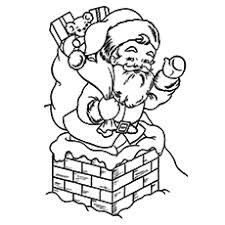 30 cute santa claus coloring pages