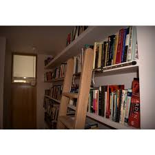 Bookcase Ladder And Rail by Rolling Library Ladders Rolling Ladders Ladderstore Com