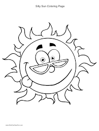 summer sun coloring page getcoloringpages com