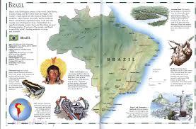 Map Of Brazil South America by Brazil Mapfree Maps Of Us