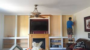 Built In Bookshelves Fireplace by Building Our Fireplace Built In U0027s The Sweetest Digs Diy Built In
