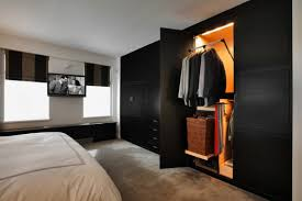 Bedroom Closet Ideas by Apartment Bedroom A Bachelor Loft In Small Apartment Area And