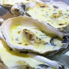 la recette de cuisine com la recette des huîtres chaudes au beurre d herbes huitre chaude