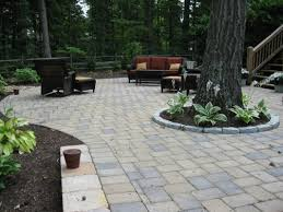 best 70 around patio pavers design decoration of landscaping