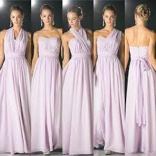 lavender bridesmaid dress affordable versatile floor length convertible bridesmaid dress 7