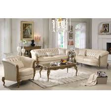White Sofa Sets Leather Furniture Genuine Leather Sofa For Excellent Living Room Sofas