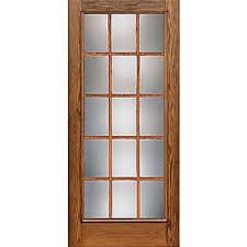Oak Patio Doors Therma Tru Cc102 Oak Collection Patio Door At Lumber
