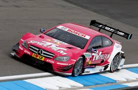 pink mercedes amg motorsports dtm german touring cars championship 2012 1 race