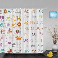 Gorgeous Shower Curtain by Online Get Cheap Educational Shower Curtain Aliexpress Com