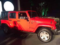 jeep wrangler india jeep grand cherokee wrangler showcased at a private gathering in