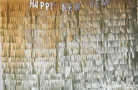 new years back drop new year s party diy roundup delineate your dwelling
