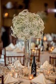 photo centerpieces dainty and lovely 25 easy ideas of baby s breath centerpieces