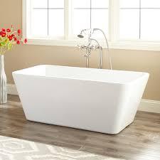 53 baxter acrylic freestanding tub bathroom