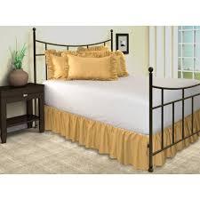 Bed Frame Skirt Split Corner Bed Skirt Shopbedding