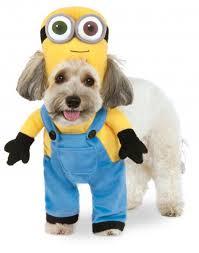 rubies minion bob arms despicable me movie suit pet dog halloween