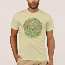 Color Blind Test Name Colorblind T Shirts U0026 Shirt Designs Zazzle