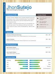 Resume One Page Template Resume One Page Resume Badak