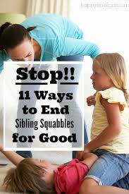 what to do when siblings keep fighting this works sibling