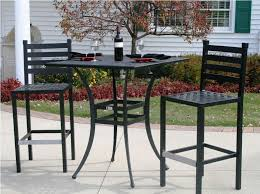 Pub Height Patio Table Cast Aluminum Bar Height Patio Furniture Optimizing Home Decor