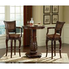bar stools bar height dining table indoor bistro table set bar