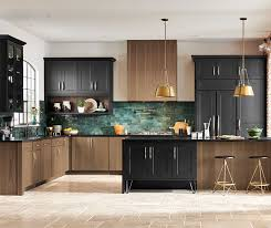 what color countertops with walnut cabinets transitional walnut and maple kitchen cabinets decora