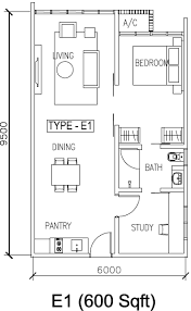500 Square Foot Apartment Download 600 Sq Ft Apartment Floor Plan Home Intercine