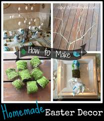 homemade easter decor a purdy little house