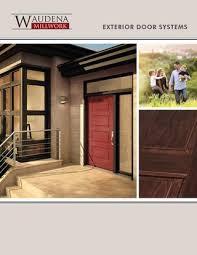Large Exterior Doors Waudena Millwork Exterior Door Catalog 2017 By Wausau Supply