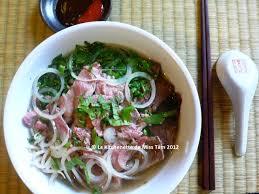recette cuisine thailandaise traditionnelle phở bò soupe pho au boeuf recette et origines la
