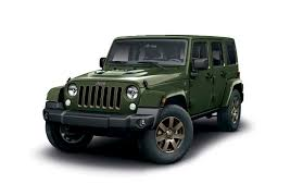 bronze jeep jeep announces new 75th anniversary wrangler press fiat group