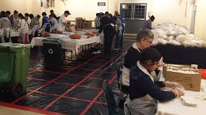 bay area rallies to feed the hungry this thanksgiving abc7news