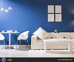 the calming effect of blue and the peacefulness of white can give