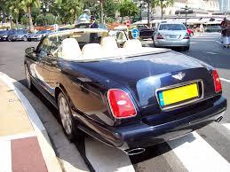 bentley monaco cotxes exotics bentley azure monaco