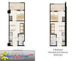 Sqm To Sqft by Field Residences Paranaque Metro Manila Philippine Realty Group