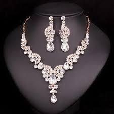 diamond necklace earring set images Blue sapphire necklace earring set atperrys jpg