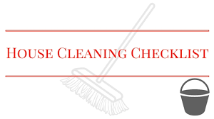 house cleaning checklist and tips life gets organized