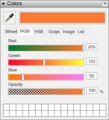 choosing colors sketchup knowledge base